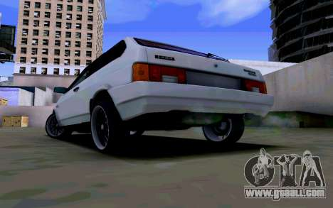 VAZ 2108 V2 for GTA San Andreas back left view