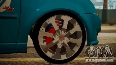 Chevrolet Meriva de Seguridad Vial for GTA San Andreas right view
