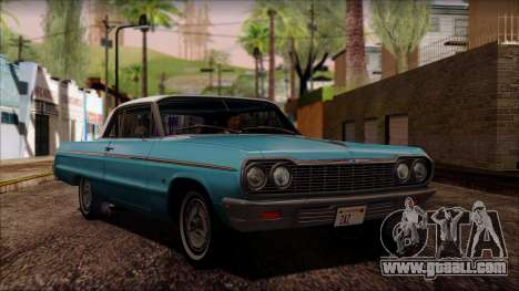 Chevrolet Impala SS 1964 Final for GTA San Andreas left view