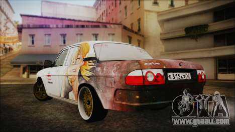 ГАЗ 31105 Drift (Everlasting Summer Edition) for GTA San Andreas left view