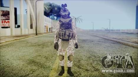 Bundeswehr Desert v3 for GTA San Andreas second screenshot