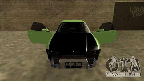 Nissan Skyline R33 Drift for GTA San Andreas upper view