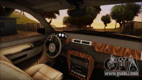 GTA 5 Declasse Granger SA Style for GTA San Andreas right view