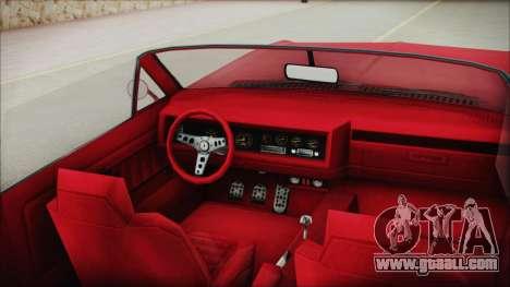 GTA 5 Albany Buccaneer Custom IVF for GTA San Andreas right view