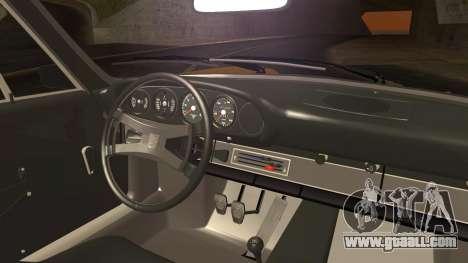 Porsche 911 Carrera RS 2.7 (901) 1973 for GTA San Andreas back left view