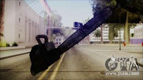 Helloween Chainsaw for GTA San Andreas second screenshot