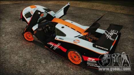 McLaren F1 GTR 1998 for GTA San Andreas engine