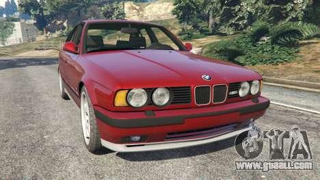 BMW M5 (E34) 1991 for GTA 5