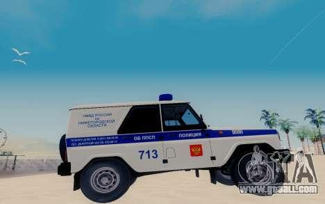 UAZ Hunter SPSP for GTA San Andreas left view