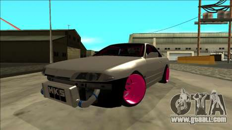 Nissan Skyline R32 Drift for GTA San Andreas back view