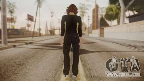 GTA Online - Custom Girl (Lowrider DLC Clothes) for GTA San Andreas third screenshot