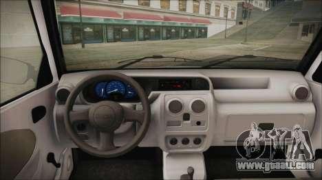 Dacia Solenza Politia for GTA San Andreas back left view
