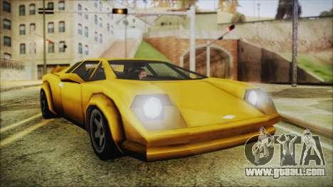 Vice City Infernus for GTA San Andreas