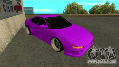 Toyota MR2 Drift for GTA San Andreas left view