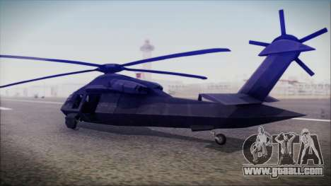 UH-80 Ghost Hawk for GTA San Andreas left view