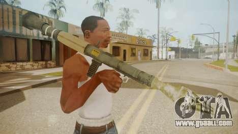 GTA 5 Rocket Launcher for GTA San Andreas third screenshot