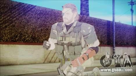 MGSV Phantom Pain Snake Normal Splitter for GTA San Andreas