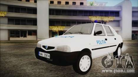 Dacia Solenza Politia for GTA San Andreas