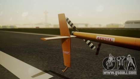 Robinson R-22 de Seguridad Vial for GTA San Andreas back left view