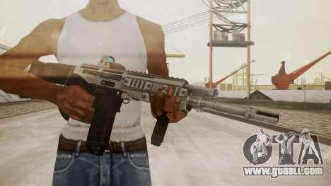 Bushmaster ACR Silver for GTA San Andreas third screenshot