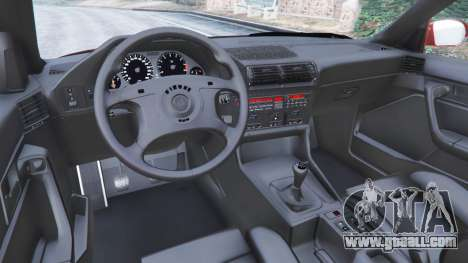 GTA 5 BMW M5 (E34) 1991 right side view