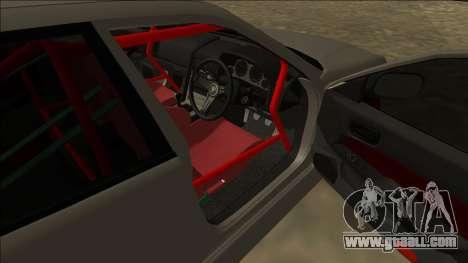 Nissan Skyline ER34 Drift for GTA San Andreas back left view