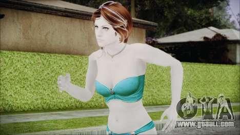 Jill Underwear for GTA San Andreas