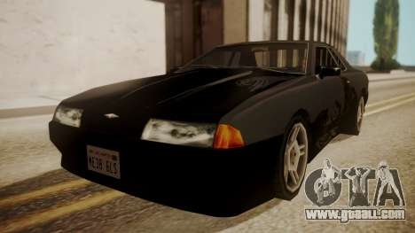 Elegy FnF Skins for GTA San Andreas right view