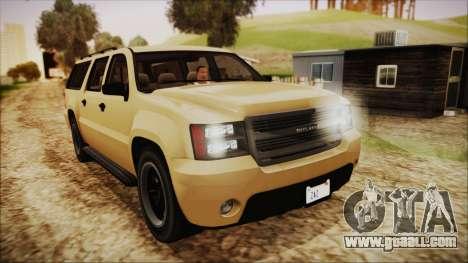 GTA 5 Declasse Granger SA Style for GTA San Andreas