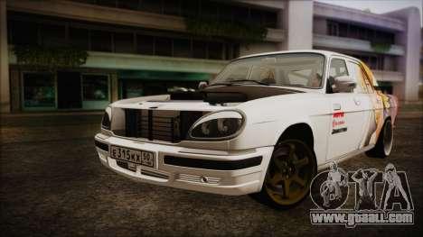 ГАЗ 31105 Drift (Everlasting Summer Edition) for GTA San Andreas