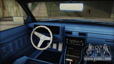 GTA 5 Willard Faction Custom IVF for GTA San Andreas back left view