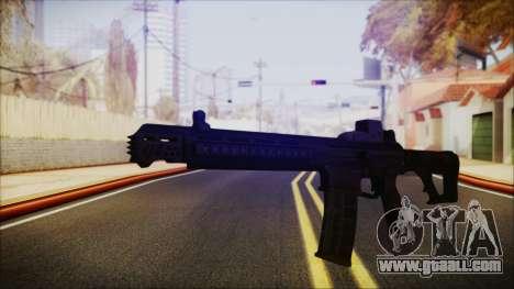 SOWSAR-17 Type G Assault Rifle for GTA San Andreas second screenshot