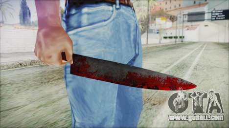 Helloween Butcher Knife for GTA San Andreas