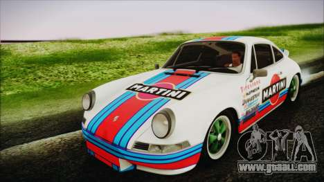 Porsche 911 Carrera RS 2.7 (901) 1973 for GTA San Andreas back view