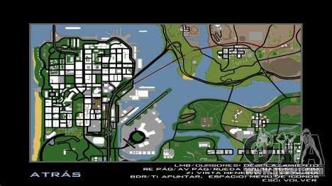 HD Radar Map for GTA San Andreas third screenshot