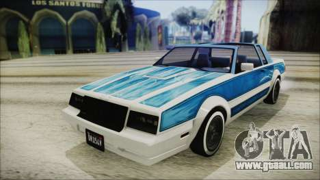 GTA 5 Willard Faction Custom IVF for GTA San Andreas right view
