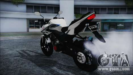 Honda CB150R White for GTA San Andreas left view