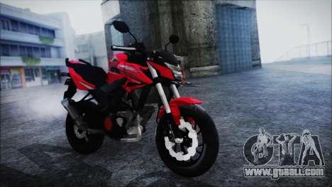 Honda CB150R Red for GTA San Andreas