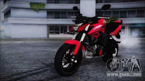 Honda CB150R Red for GTA San Andreas right view