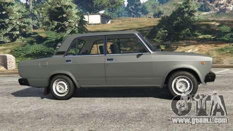 GTA 5 VAZ-2107 [Riva] left side view