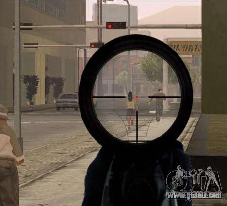 Sniper Scope v2 for GTA San Andreas