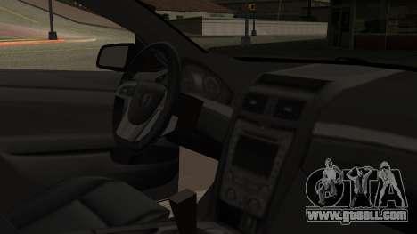 Chevrolet Lumina SS 2011 K.N Edition for GTA San Andreas right view