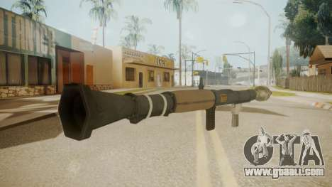 GTA 5 Rocket Launcher for GTA San Andreas second screenshot