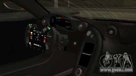 McLaren P1 GTR 2015 for GTA San Andreas right view