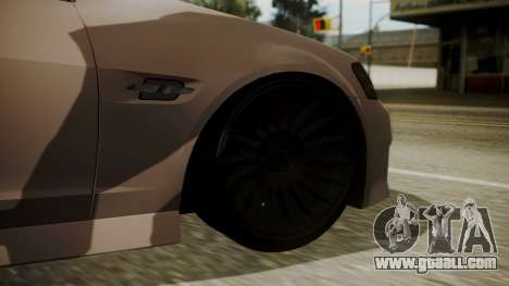 Chevrolet Lumina SS 2011 K.N Edition for GTA San Andreas back left view