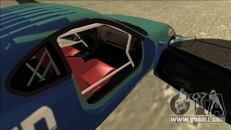 Toyota Supra Falken Drift for GTA San Andreas back view