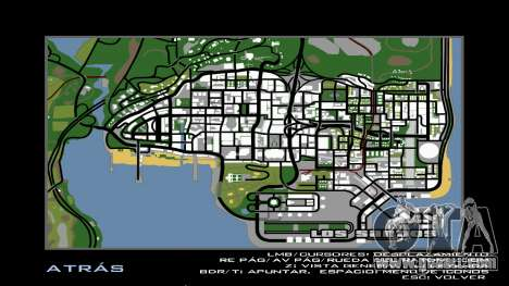 HD Radar Map for GTA San Andreas