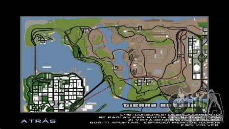 HD Radar Map for GTA San Andreas sixth screenshot