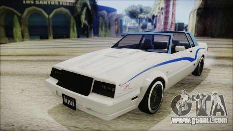 GTA 5 Willard Faction Custom IVF for GTA San Andreas side view
