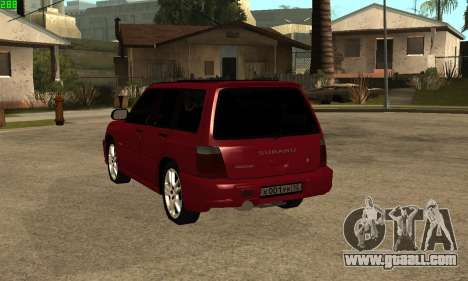 Subaru Forester 2006 for GTA San Andreas left view